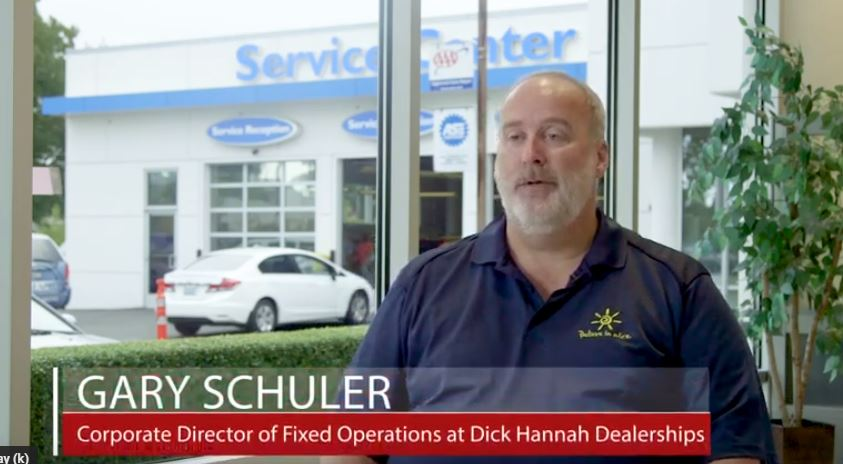Photo of Gary Schuler - Corporate Director of Fixed Operations at Dick Hannah Dealership